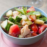 Vegan Monday // Salată Panzanella