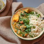 Vegan Monday // Curry de vinete & cartofi dulci