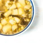 Ciorbă de cartofi și linte