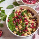 Vegan Monday // Balila – salată caldă de năut & chimion