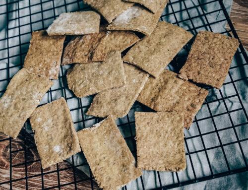 Viața fără gluten & o rețetă de crackers gluten-free